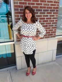 One of my favorite Tunic Dresses we have in stock in white and also blue 39.00