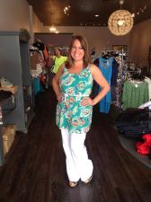 Pretty Summer Top or Mini Dress 32.00