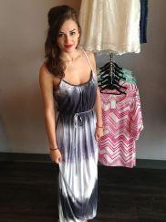 Tie dyed Maxi Dress 42.00